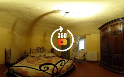 Maison de village, 4 chambres, piscine véranda