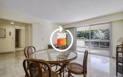 Appartement 2 pièces au calme absolu de 45 m² en rez de jardin