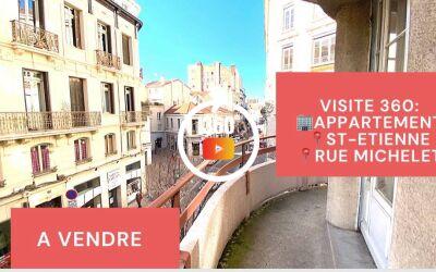 Visite virtuelle: F2\/F3, balcon cave et grenier, Hyper-Centre\/Rue Michelet, Saint-Etienne