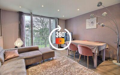 Appartement 3 pièces 52m² Antony Quartier Pajeaud Massy Verrières