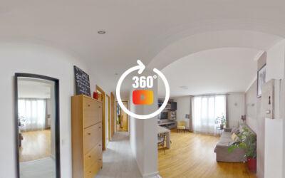 ref 1374 : Appartement 55m² Deuil La barre