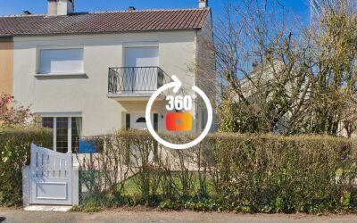 Maison 5 pièces 100 m² sur terrain de 343 m²