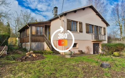 Maison 100 m² sur sous-sol total