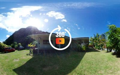 A louer belle maison F3-Bis à Paea (Lotissement privé-proche plage ROHOTU)