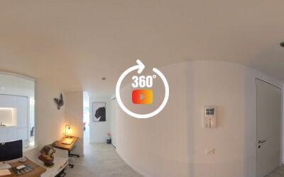 Magnifique appartement de 2,5 pièces haut de gamme avec terrasse er garage box